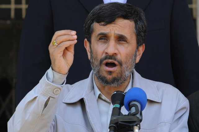 Mahmoud Ahmadinejad... (Photo: AFP)