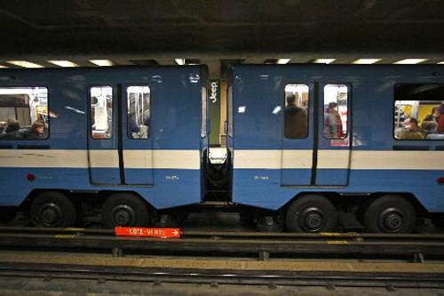 Le rajeunissement du métro de Montréal et l'expansion du réseau de trains de... (Photo: Robert Mailloux, Archives La Presse)