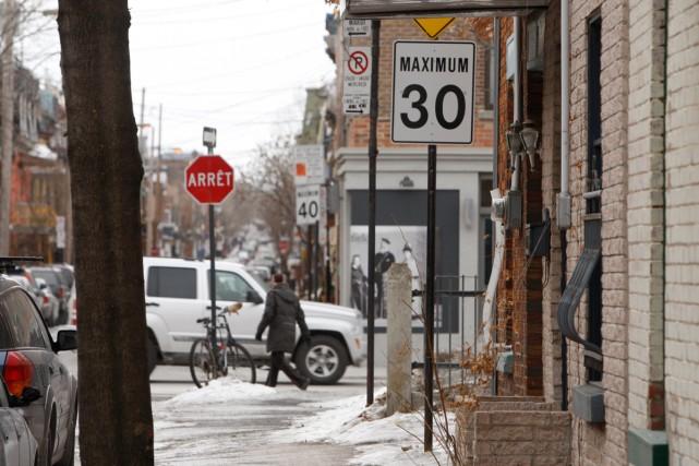 Le Plan de déplacement urbain adopté sur le... (Photo: Martin Chamberland, La Presse)