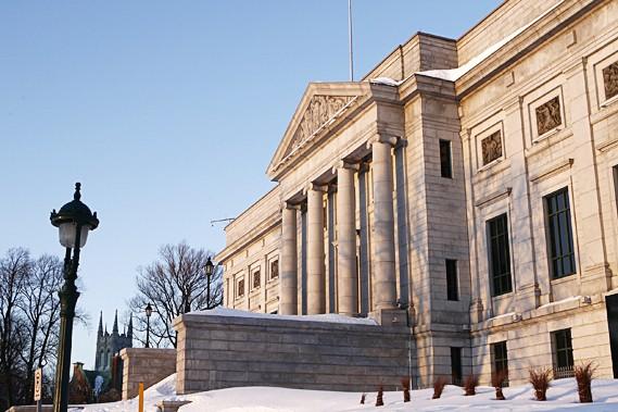 Le Musée national des beaux-arts du Québec (MNBAQ)... (Le Soleil, Yan Doublet)