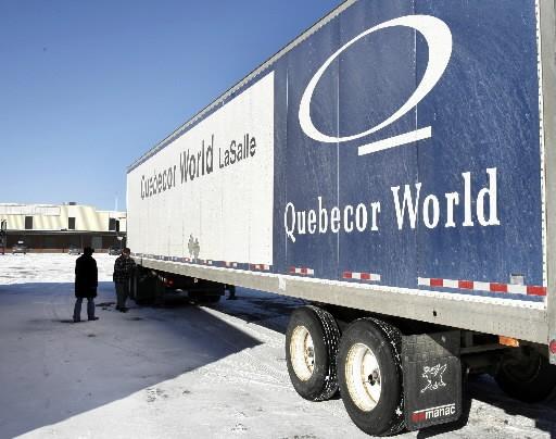 Quebecor World (T.IQW), qui opère en vertu de la protection de... (Photo: La Presse Canadienne)