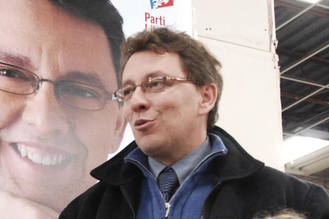 Le président du Parti libéral du Québec (PLQ), Jean D'Amour, a vu son permis de... (Archives La Presse)