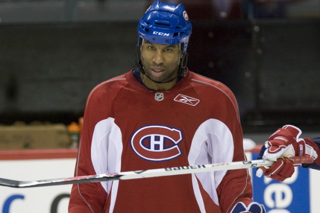Georges Laraque... (Photo: Ivanoh Demers, La Presse)
