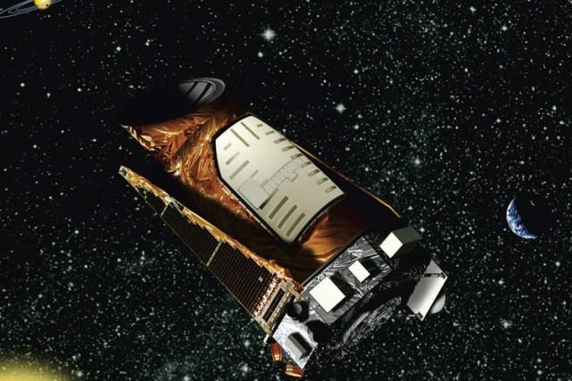 Cette illustration fournie par la NASA montre le...