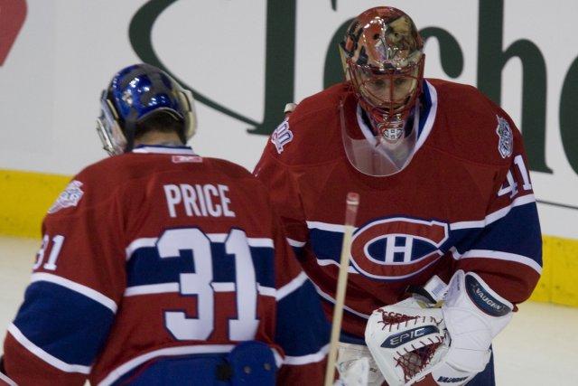 Carey Price et Jaroslav Halak... (Photo: André Pichette, La Presse)