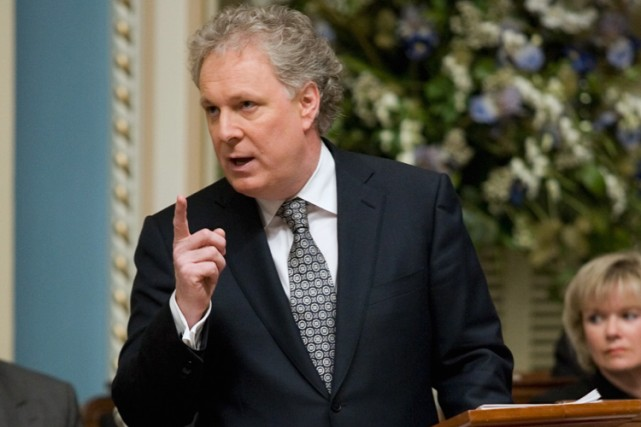 Jean Charest a donné le signal de départ... (Photo: PC)