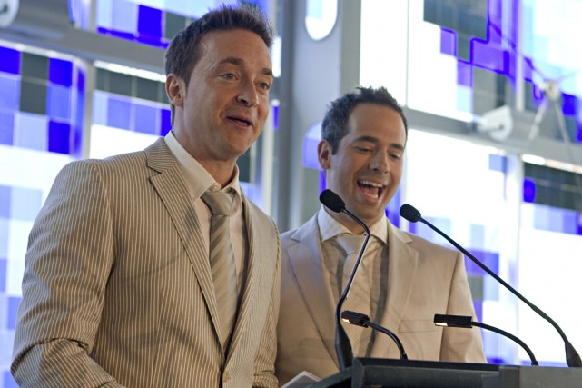 Mario Tessier et José Gaudet, qui forment le... (Photo: François Roy, La Presse)