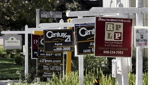 Les promesses de vente de logements aux États-Unis ont rebondi de 2,1% en... (Photo: Associated Press)
