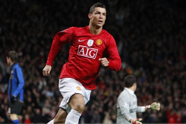 L'attaquant vedette de Manchester United, Cristiano Ronaldo... (Photo: AP)