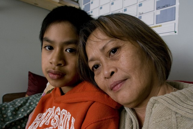 Melca Salvador laisse dans le deuil son fils... (Photo: André Tremblay, La Presse)