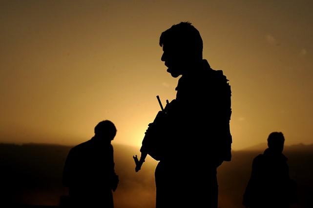 Kandahar est une bonne école pour les policiers des grandes villes canadiennes. (Photo AFP)