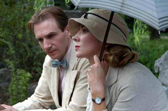 Natasha Richardson et Ralph Fiennes dans La comtesse...