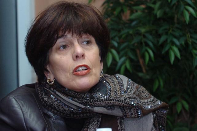 La ministre de l'Éducation, Michelle Courchesne... (Photo: Sylvain Mayer, Le Nouvelliste)