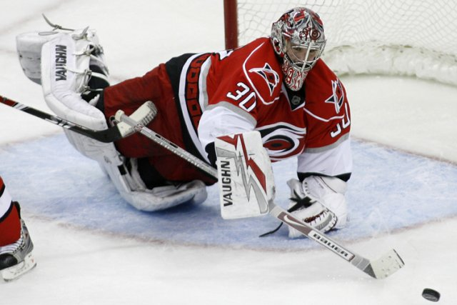 Cam Ward... (Photo: Reuters)