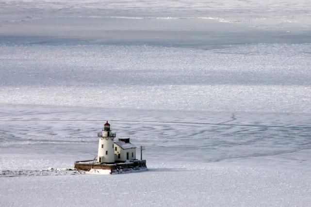 La réduction des glaces laisse le plus important... (Photo: AP)