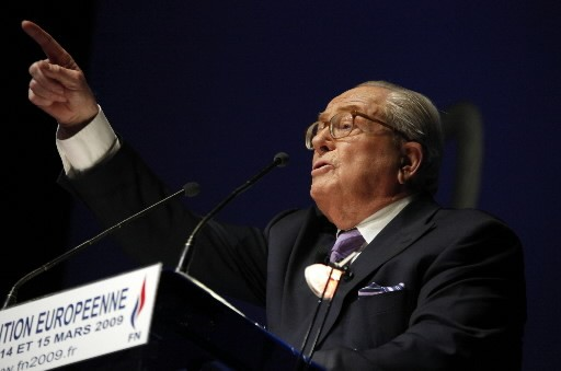 Jean-Marie Le Pen... (Photo: Reuters)