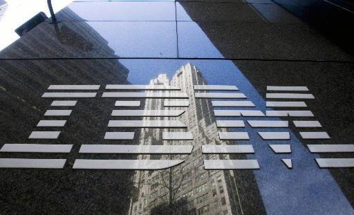 Le fabricant informatique américain IBM a revu en baisse son offre sur son... (Photo: Bloomberg)
