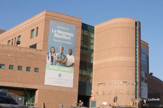 L'Hôpital Montfort à Ottawa... (Archives, LeDroit)