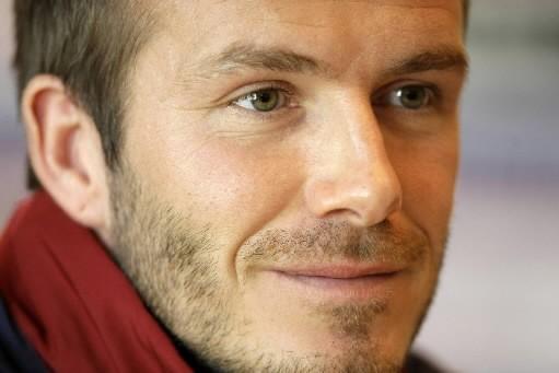 David Beckham... (Photo: AP)