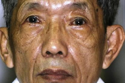 Kaing Guek Eav surnommé «Douch»... (Photo: AP)
