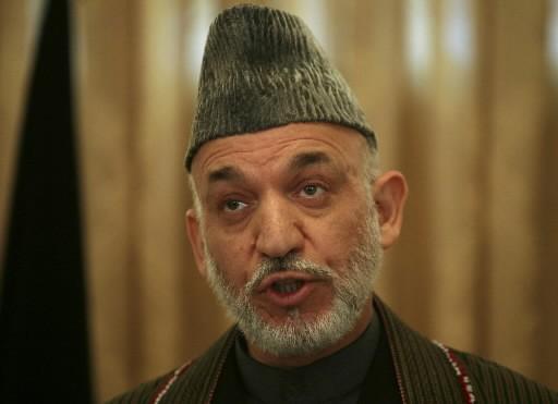 Hamid Karzaï... (Photo: AP)