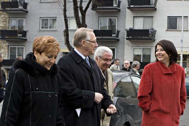 La directrice générale des Fourchettes de l'Espoir, Brunilda... (Photo: David Boily, La Presse)