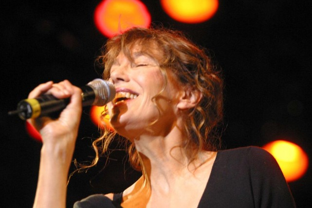 Jane Birkin... (Photo: Martin Tremblay, La Presse)