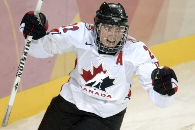 Hayley  Wickenheiser... (Photo: Bernard Brault, La Presse)