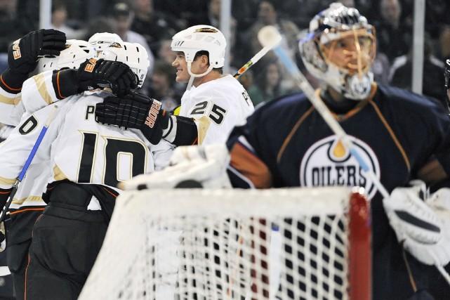 Les Ducks figurent maintenant au septième rang de... (Photo: PC)
