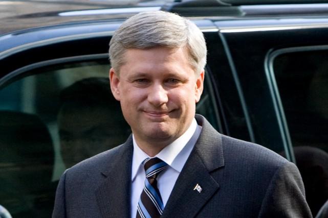 Le premier ministre canadien Stephen Harper a annoncé mercredi qu'Ottawa allait... (Photo La Presse Canadienne)