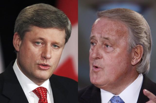 Stephen Harper affirme ne pas savoir si l'ancien premier ministre Brian...