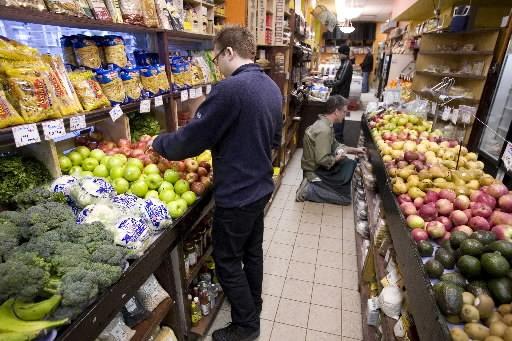L'étiquette «Aliments du Québec», qu'arborent de plus en plus de produits, a un... (Photo: Alain Roberge, Archives La Presse)