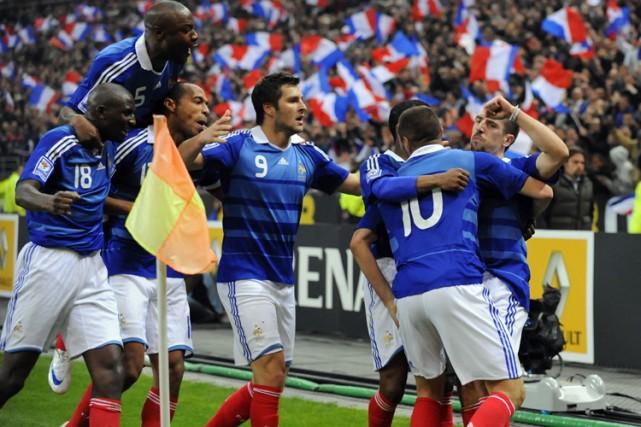La France a remporté une victoire de 1-0... (Photo: AFP)