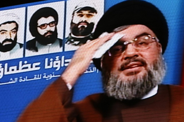 Le chef du Hezbollah chiite, Hassan Nasrallah.... (Photo: AFP)
