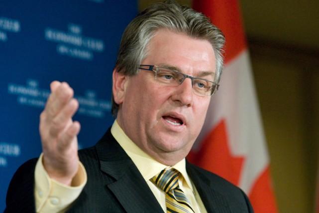 Le président des Travailleurs canadiens de l'automobile (TCA),... (Photo: Bloomberg)