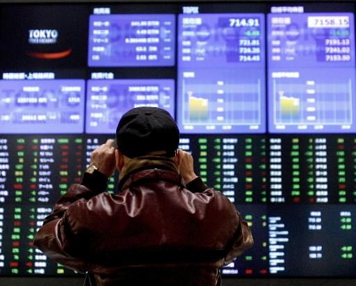 La Bourse de Tokyo a terminé la séance à son plus haut niveau en près de trois... (Photo: Associated Press)