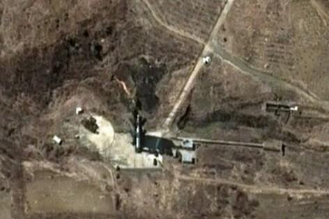 L'armée nord-coréenne a menacé jeudi le Japon de représailles en cas... (Photo: AP)