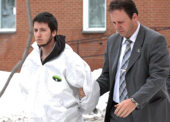 Tobby Carrier lors de son arrestation en avril... (Photothèque Le Soleil)