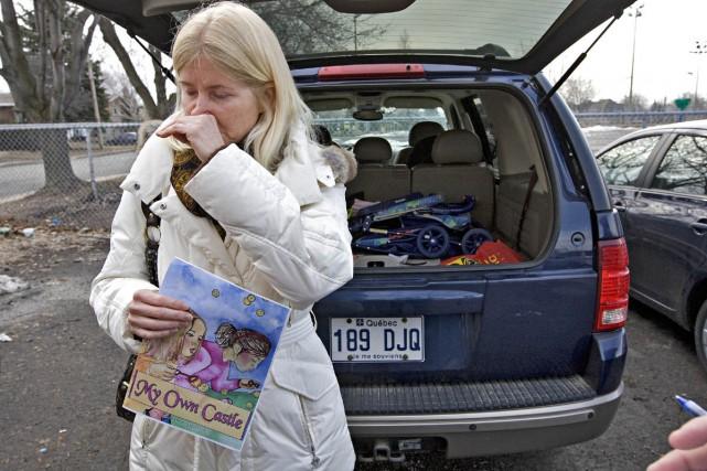 Elizabeth Hoadley a écrit une histoire que les... (Photo: Patrick Sanfaçon, La Presse)