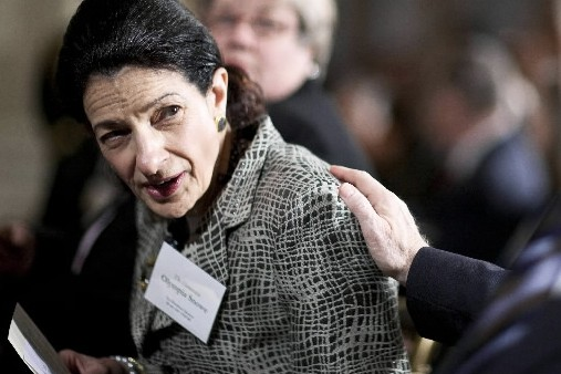 La républicaine Olympia Snowe... (Photo: Bloomberg News)