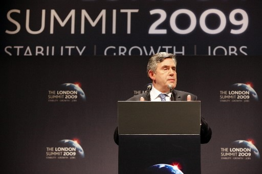 Gordon Brown qualifie la conclusion de ce sommet...