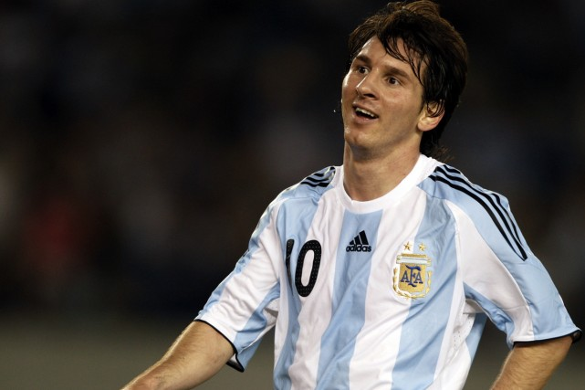 Lionel Messi... (Photo: Reuters)