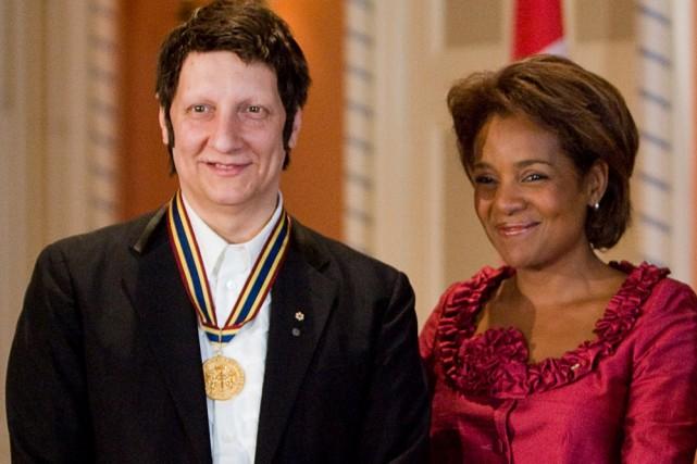 Robert Lepage en compagnie de la Gouverneure générale... (Photo: PC)