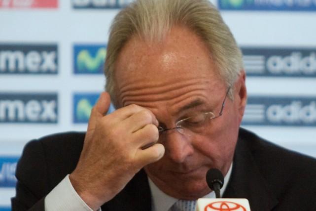 Sven-Goran Eriksson... (Photo: AFP)