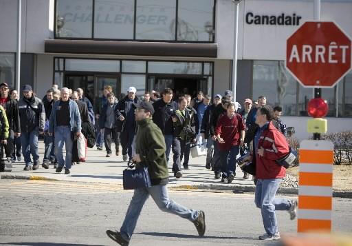 Pour la première fois de son histoire, Bombardier a enregistré des profits d'un... (Photo: André Pichette, La Presse)