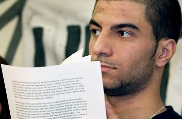 Hayder Kadhim, victime de la fusillade du collège... (Photo La Presse Canadienne)