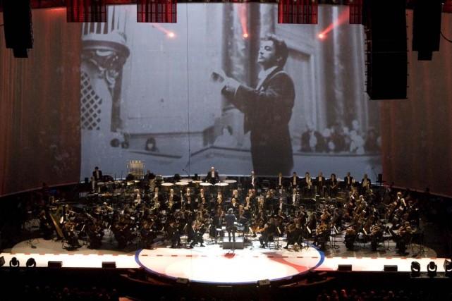 La performance de l'OSM au Centre Bell était... (Photo: André Pichette, La Presse)