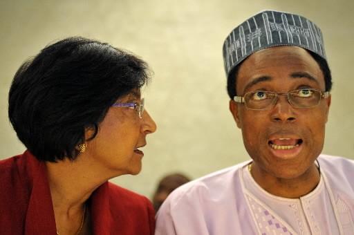 Le président du Conseil des droits de l'homme,... (AFP PHOTO / FABRICE COFFRINI)