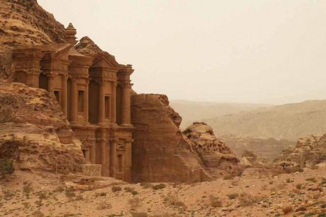 Le Monastère est l'édifice le plus monumental de... (Photo: André Désiront, collaboration spéciale)