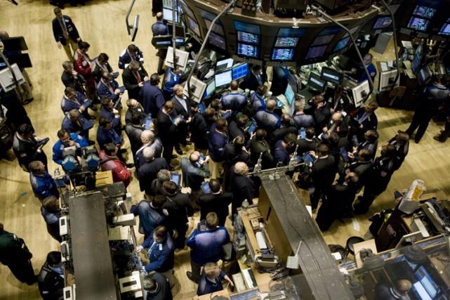 La Bourse de Toronto a terminé sa séance de vendredi pratiquement au même... (Photo: Bloomberg)